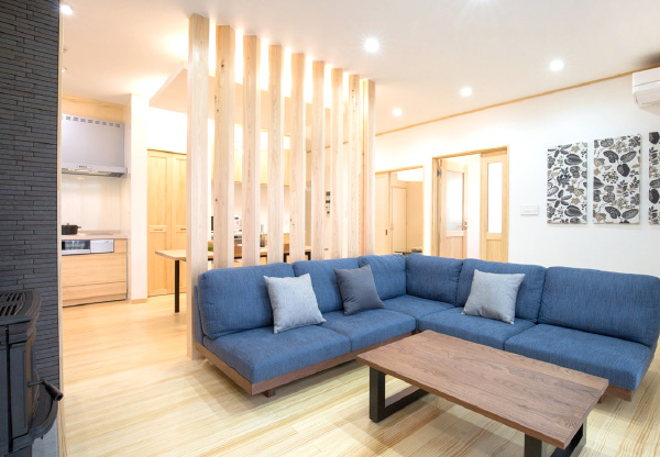 広島の新築・リフォーム・増改築「プレザーホーム」 商品「BEARLIFE ベアライフ」一年中春のように心地いい。