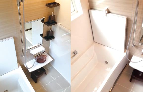 広島の新築・リフォーム・増改築「プレザーホーム」 商品「BEARLIFE ベアライフ」の選べる仕様【ホーロー浴室パネル】