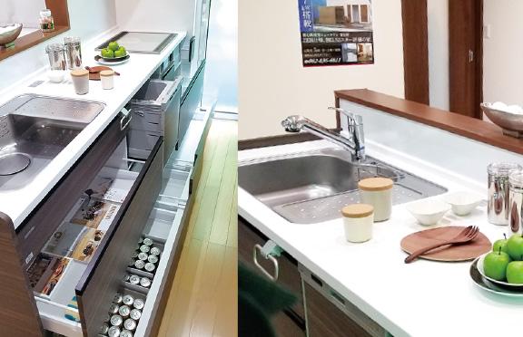 広島の新築・リフォーム・増改築「プレザーホーム」 商品「BEARLIFE ベアライフ」の選べる仕様【システムキッチン】