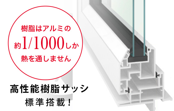 広島の新築・リフォーム・増改築「プレザーホーム」 プレザーホームが選ばれる理由3「冷暖房費を削減」